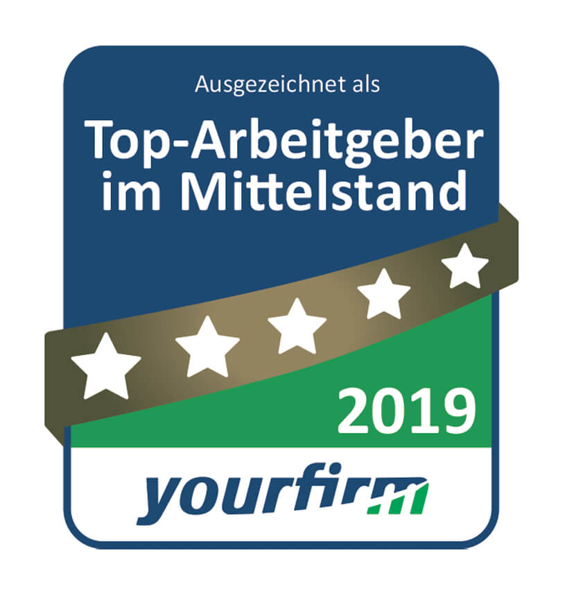 [Translate to English:] yourfirm – Top-Arbeitgeber im Mittelstand